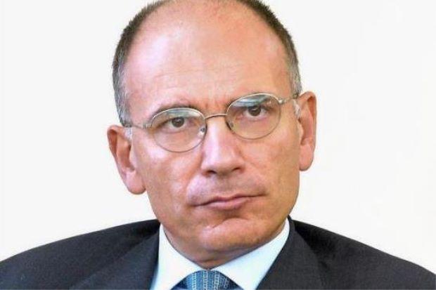 Ex Italian PM DR ENRICO LETTA