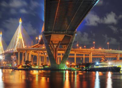 Bhumibol-bridge-infrastructure-in-thailand